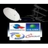 Триколор ТВ,  НТВ+,  Hotbird,  Turksat.  Установка,  настройка,  ремонт антенн